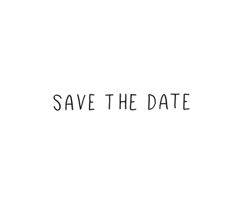 STEMPEL | SAVE THE DATE GROSS